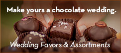 Make yours a chocolate wedding -- Wedding Favors and Assortments