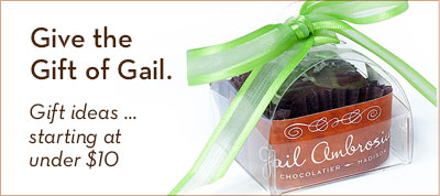 Give the Gift of Gail. Gift ideas ... starting at under $10.