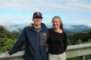Isaac & Gail in Ecuador