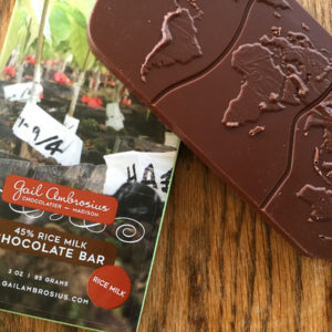 Rice Milk Chocolate Bar