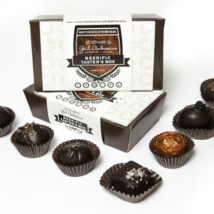 Beerific Box of paired gourmet chocolate truffles