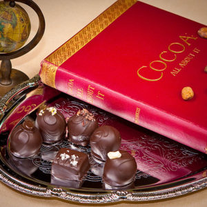 Classic Collection of flavors of gourmet chocolate truffles